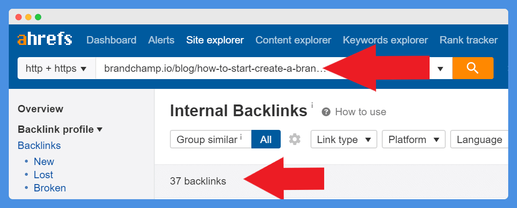 Outranking stronger domains with internal links